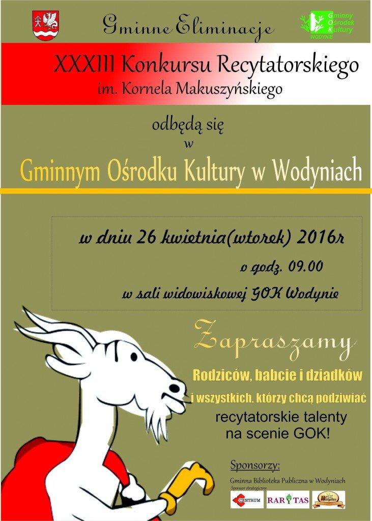 makuszyński plakat D!